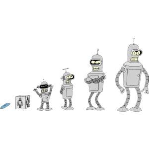 Bender crece como friki