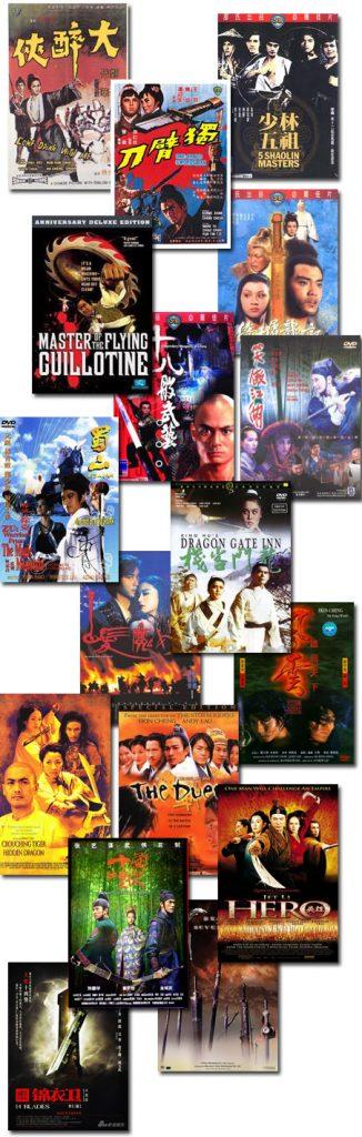 las mejores películas wuxia