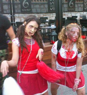 Sitges zombie walk 2011