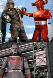 RRobot red baron + Giant robot