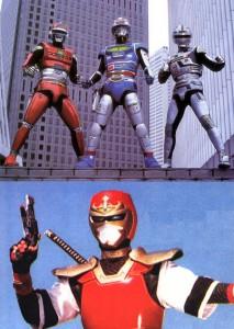 Space sheriff + Sekai ninja