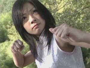 Colegialas karatekas