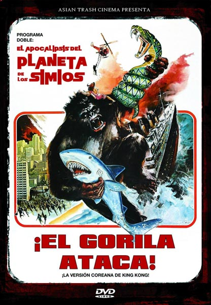 El gorila ataca