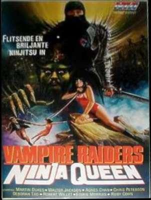 Vampire raiders ninja queen