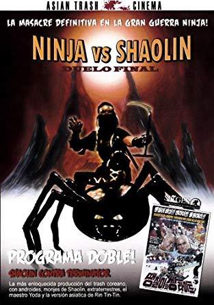 Ninja vs shaolin