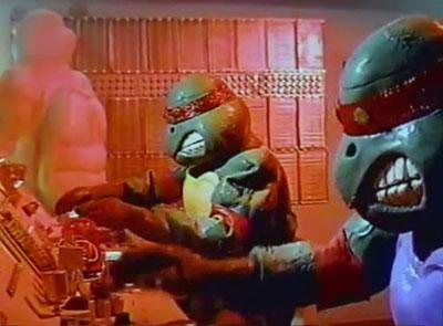 Tortugas ninja vs Transformers