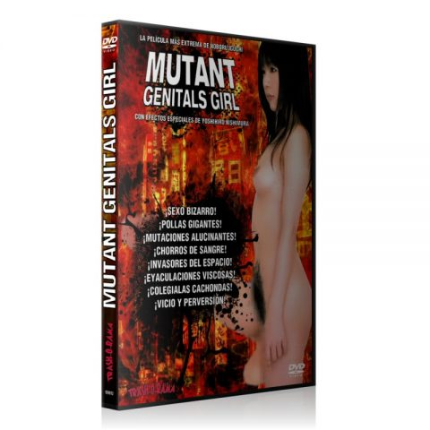Mutant genitals girl